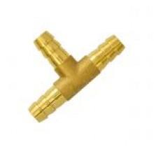 Штуцер тройник (ф9/12 мм, GasFit)