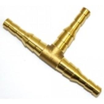 Штуцер тройник (ф6/9 мм, GasFit)