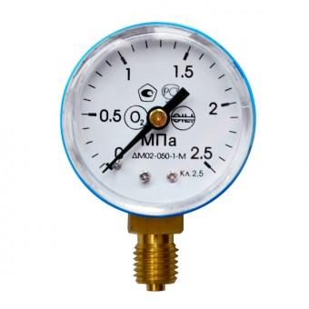 Манометр на редуктор кислородный 2,5 МПа