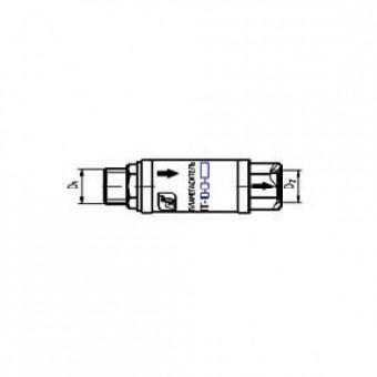Пламегаситель ПГ-1П-01-0,3 (инструмент, М16/М16, БАМЗ)